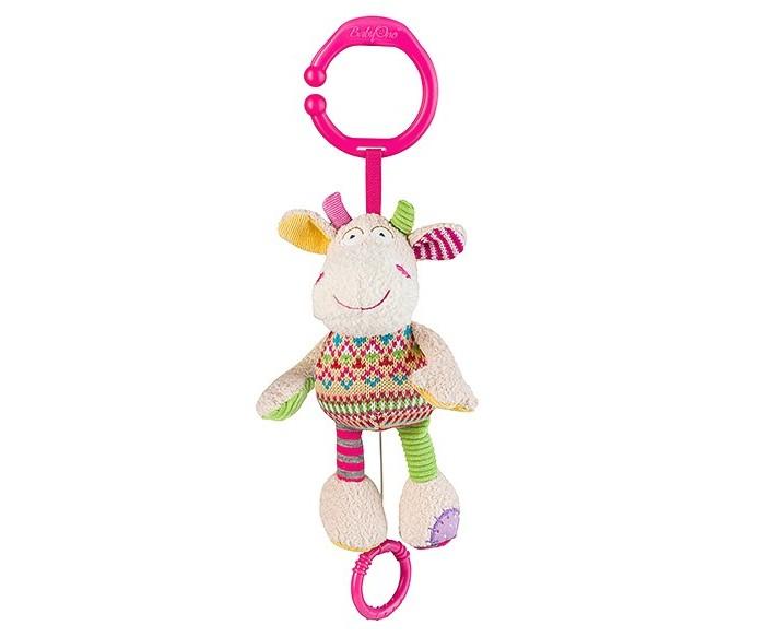 Подвесные игрушки BabyOno Коровка babyono развивающая игрушка гимнастика малыша