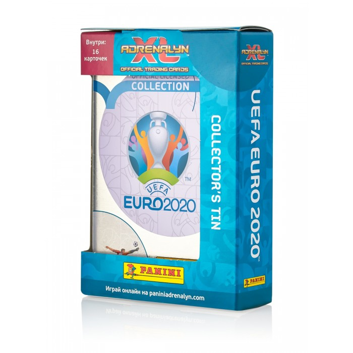 Фото - Детские наклейки Panini Подарочная упаковка EURO 2020 и 2 пакетика карточек детские наклейки panini подарочная упаковка euro 2020 и 2 пакетика карточек