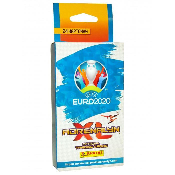 Детские наклейки Panini Блистер EURO 2020 на 3 пакетика футбольных карточек детские наклейки panini блистер lol surprise 3