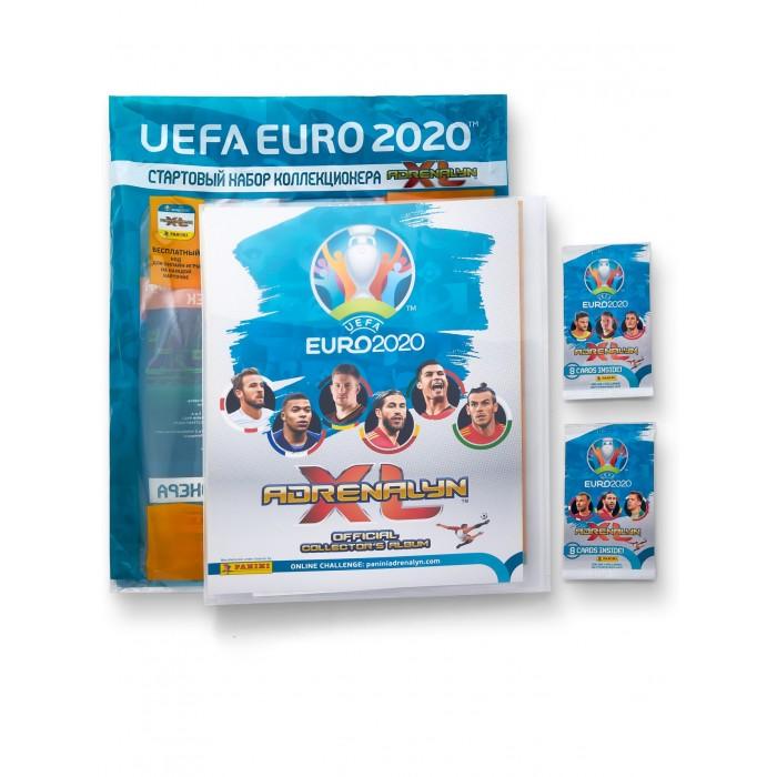 Детские наклейки Panini Стартовый набор Карточки EURO 2020 Adrenalyn XL