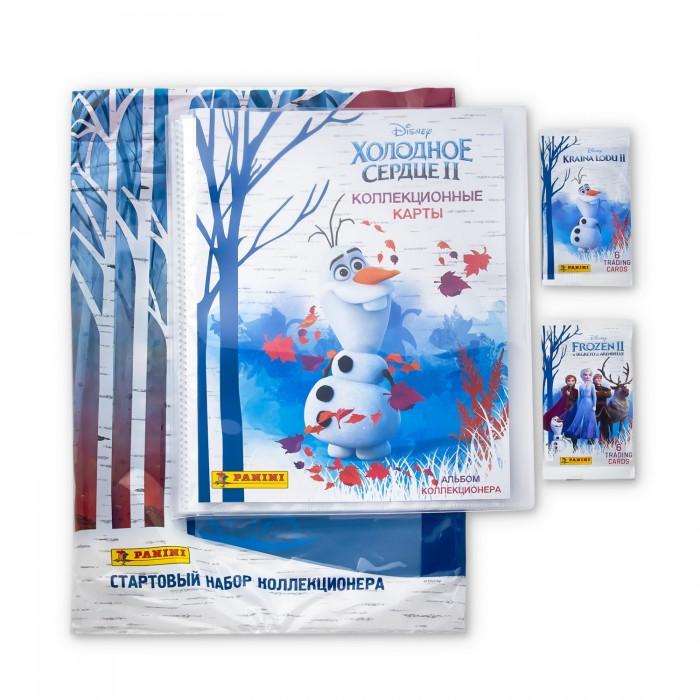 Фото - Детские наклейки Panini Стартовый набор карточек Холодное сердце 2 детские наклейки panini подарочная упаковка euro 2020 и 2 пакетика карточек