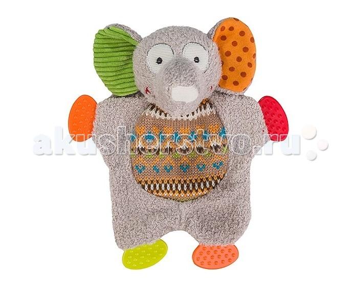 Прорезыватели BabyOno Слонёнок игрушка альтернатива слонёнок м4941 turquoise
