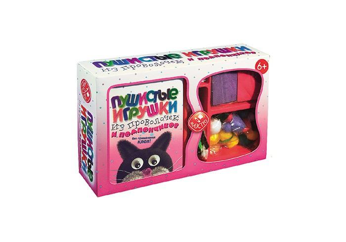 Картинка для Маэстро Пушистые игрушки из проволочек и помпончиков