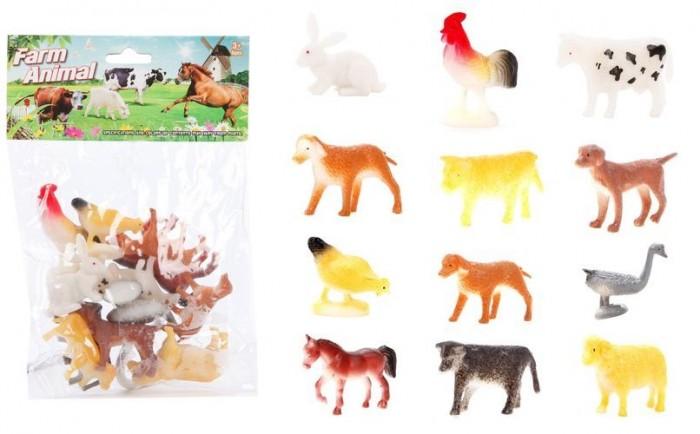 Игровые фигурки Наша Игрушка Набор домашних животных Farm animal 12 шт.