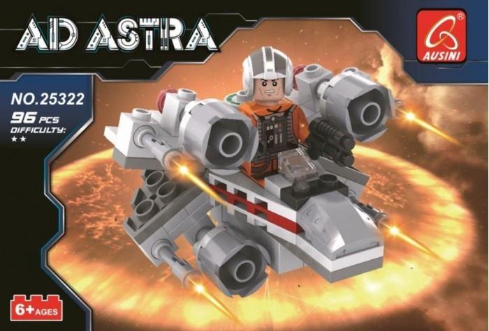 Картинка для Конструкторы Ausini серии Космос Истребитель (96 деталей)