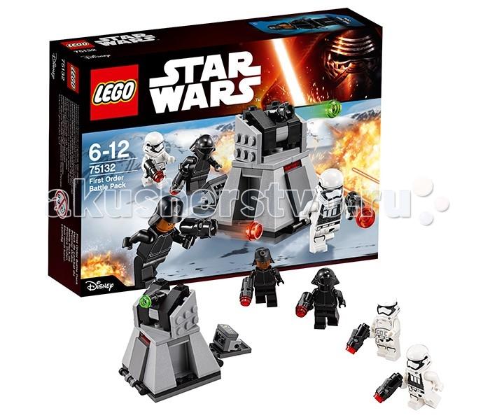 Lego Lego Star Wars 75132 Лего Звездные Войны Боевой набор Первого Ордена носки для тенниса donic 70367
