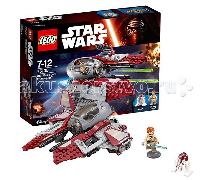 Конструктор Lego Star Wars 75135 Лего Звездные Войны Перехватчик джедаев Оби-Вана Кеноби