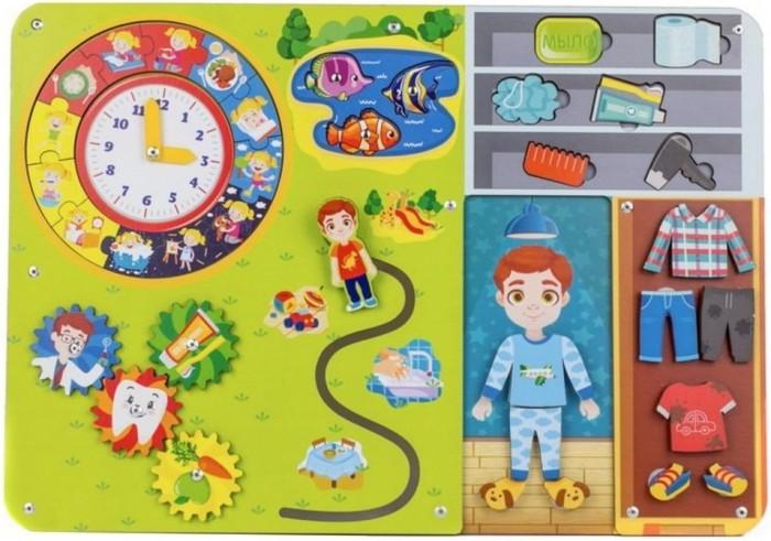 Деревянные игрушки Woodland Бизиборд Гигиена
