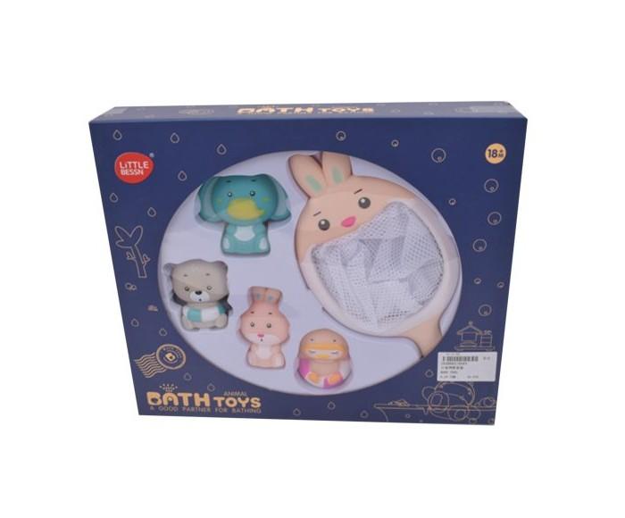 Купить Игрушки для ванны, Наша Игрушка Набор игрушек для купания Зайка (5 предметов)
