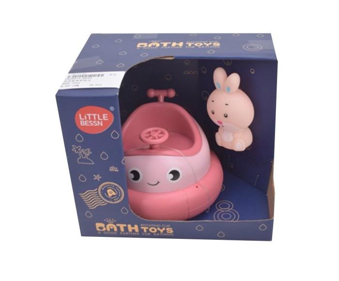 Купить Игрушки для ванны, Наша Игрушка Набор игрушек для купания Лодочка-фонтанчик и зайчик