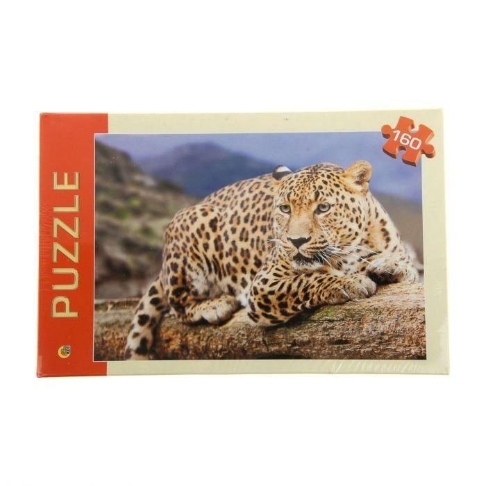где купить Пазлы Рыжий кот Пазлы Леопард (160 элементов) по лучшей цене
