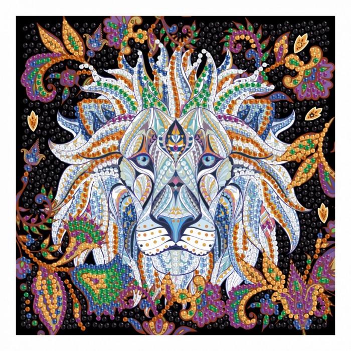 Картины своими руками Origami Набор для творчества Алмазные узоры Белый лев