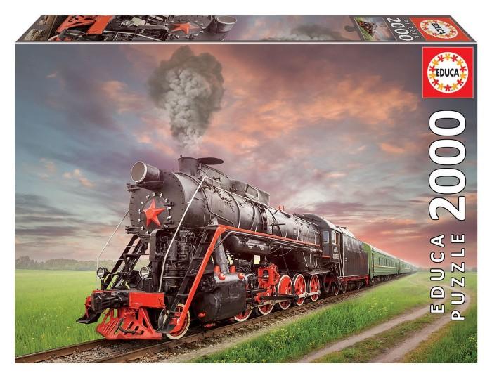 Пазлы Educa Пазл Советский поезд (2000 деталей)
