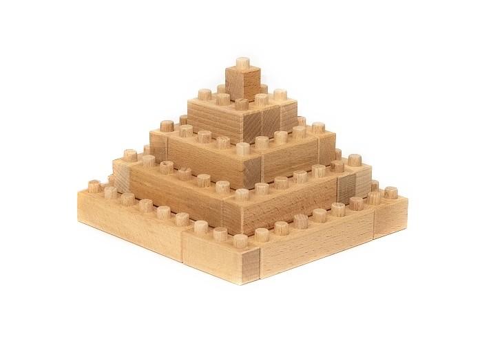 Деревянные игрушки Wood Blocks Конструктор (55 деталей)