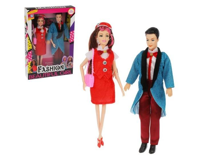 Куклы и одежда для кукол Наша Игрушка Набор кукол 29 см 2 шт. куклы и одежда для кукол наша игрушка платье для куклы очарование 29 см