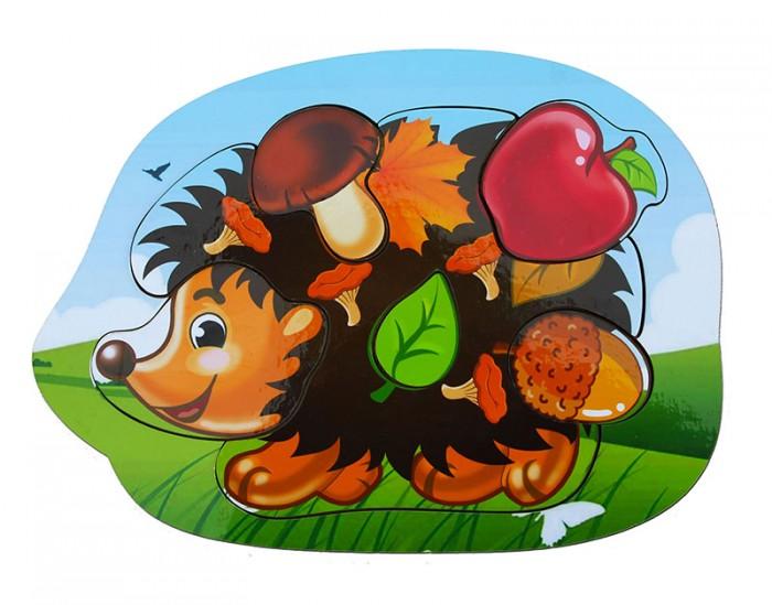 Фото - Деревянные игрушки Woodland Рамка-вкладыш Ёжик рамка вкладыш woodland где кто