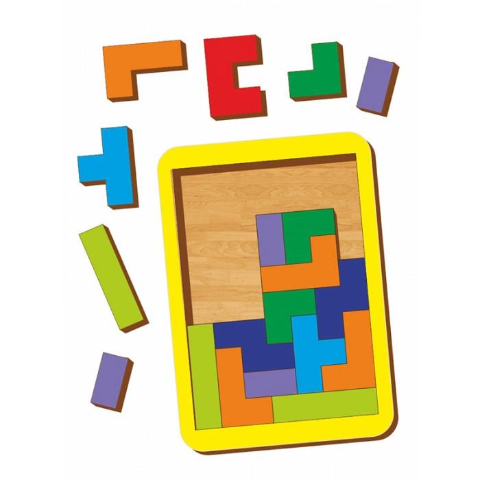 Настольные игры Woodland Логическая игра Тетрис