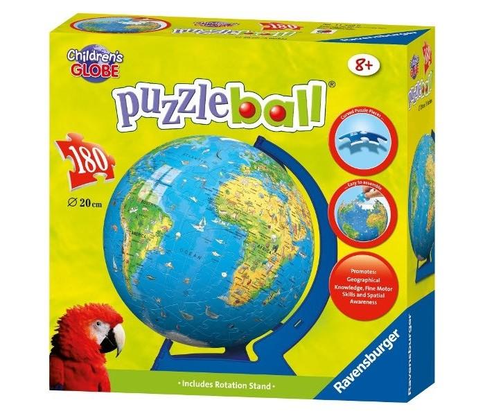 Пазлы Ravensburger Пазл 3D Глобус Детский мир (180 элементов) пазл 180 элементов monster high специальная коллекция 7310