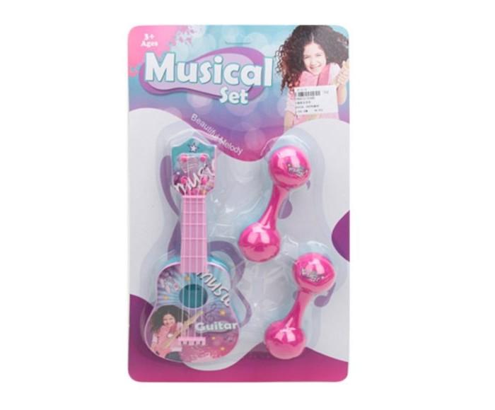 Музыкальные инструменты Наша Игрушка Набор (3 предмета) 2548B набор инструментов арсенал 3 4 8144660 23 предмета