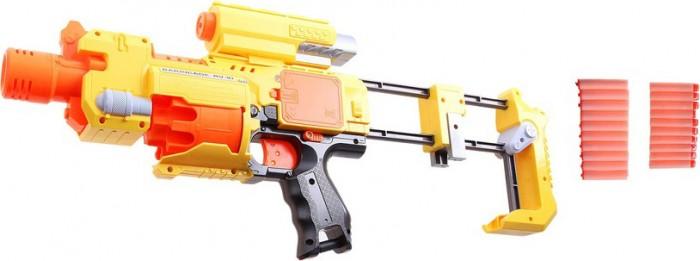 Игрушечное оружие Zhorya Агент 777 Игровой бластер zhorya оружие лазерный меч свет звук вох 56 4х15 5х5 5см звездный арсенал арт zyc 0781 3 к41330