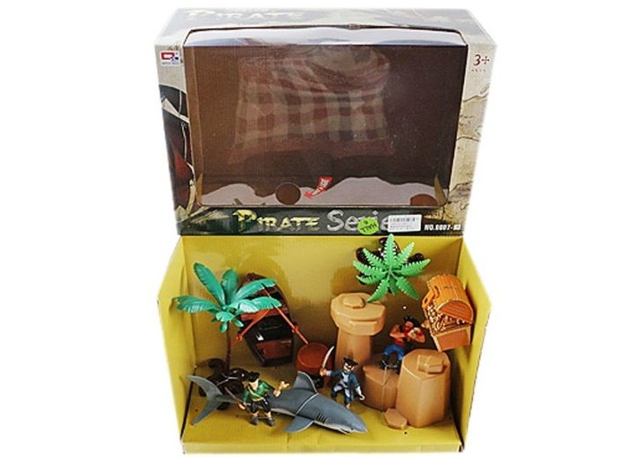 Купить Игровые наборы, Наша Игрушка Набор Пиратский остров