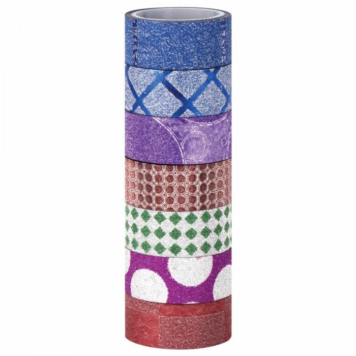 Канцелярия Остров Сокровищ Клейкая Washi-лента для декора с фольгой Геометрия
