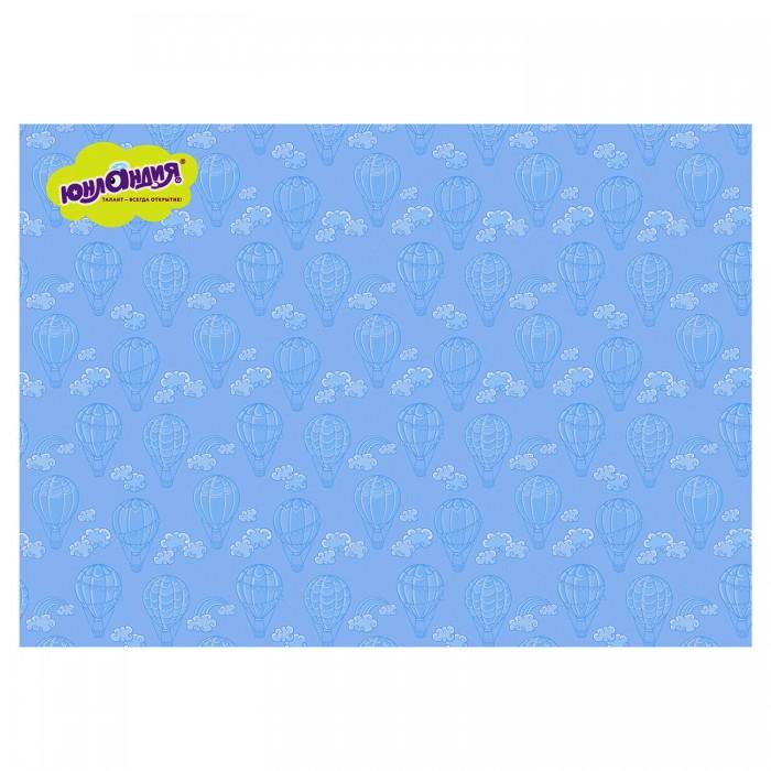 Принадлежности для рисования Юнландия Клеёнка настольная для занятий творчеством Воздушный шар 50х70 см принадлежности для дома new shk1008