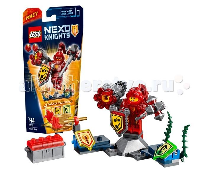 Lego Lego Nexo Knights 70331 Лего Нексо Мэйси Абсолютная сила lego nexo knights 70354 лего нексо бур машина акселя
