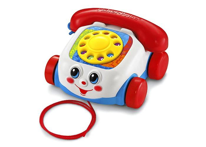 Каталки-игрушки Fisher Price Mattel Говорящий телефон на колесах телефон