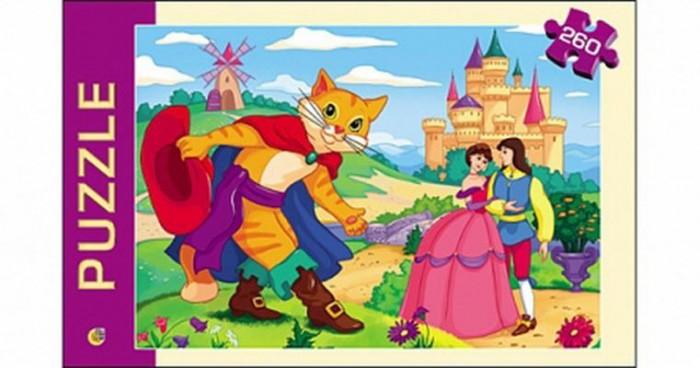 Пазлы Рыжий кот Пазлы Кот в сапогах (260 элементов)