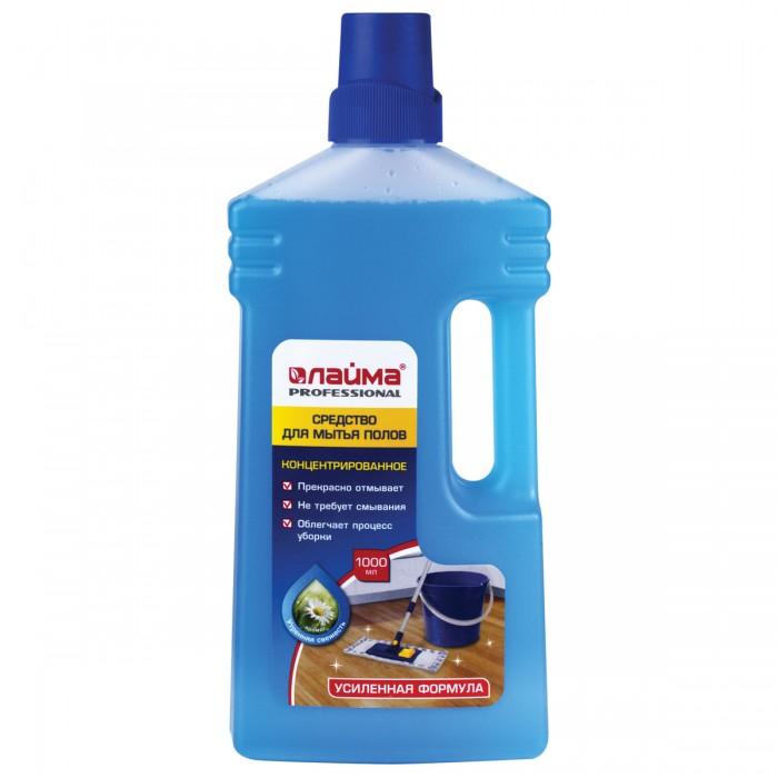 Бытовая химия Лайма Средство для мытья пола Утренняя свежесть 1 л чистящее средство лайма professional дезинфицирующий и отбеливающий эффект морской бриз 1 л 602304