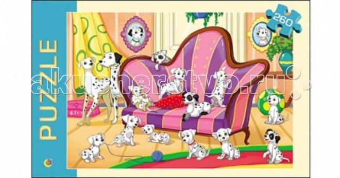 Пазлы Рыжий кот Пазлы Любимые щенки (260 элементов) пазлы для малышей любимые герои паравозик из ромашкова 16 элементов