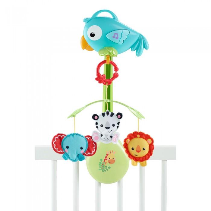 Мобили Fisher Price Mattel Друзья из тропического леса mattel игрушки веселые друзья со звуком fisher price в ассортименте