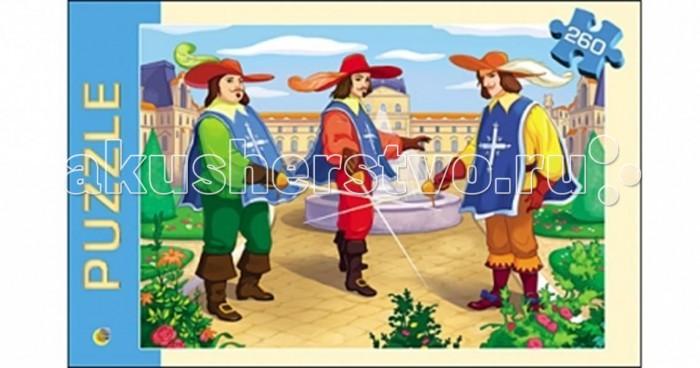 Пазлы Рыжий кот Пазлы Три мушкетера (260 элементов) три мушкетера