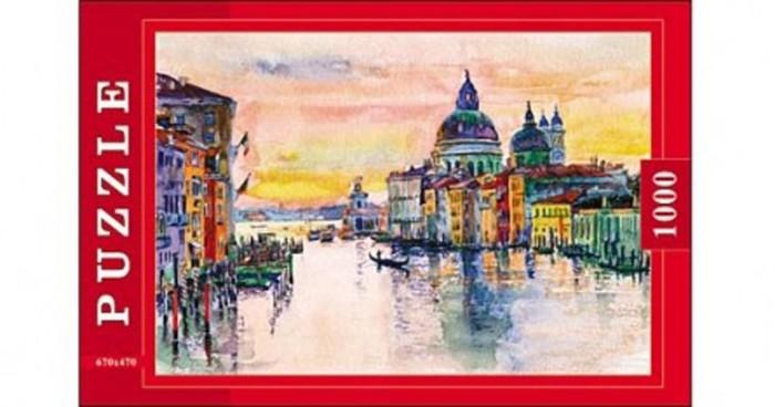 Пазлы Рыжий кот Пазлы Венеция. Акварель (1000 элементов)