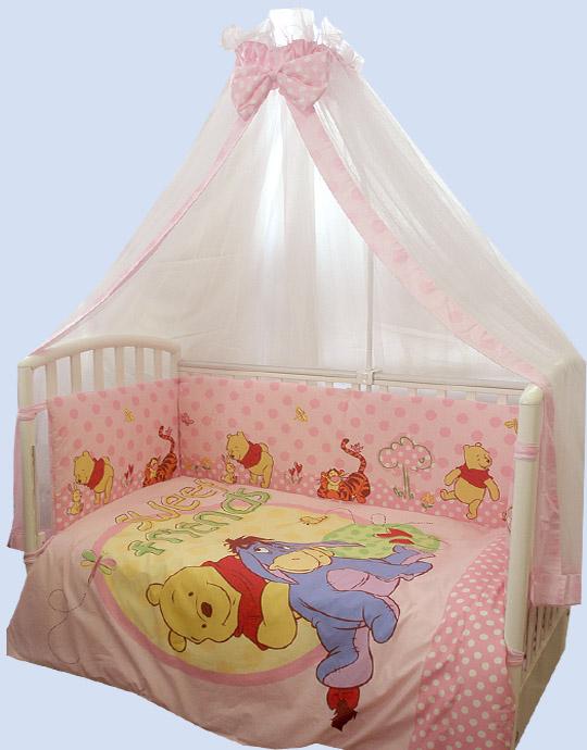 Постельные принадлежности , Комплекты в кроватку Kids Comfort 101-21 (7 предметов) арт: 8852 -  Комплекты в кроватку