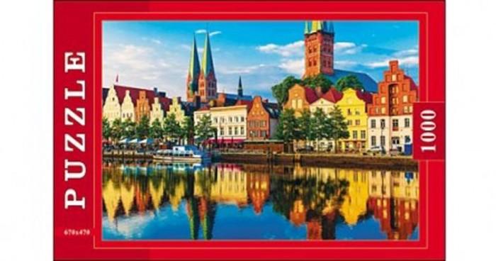 где купить Пазлы Рыжий кот Пазлы Европейский город (1000 элементов) по лучшей цене