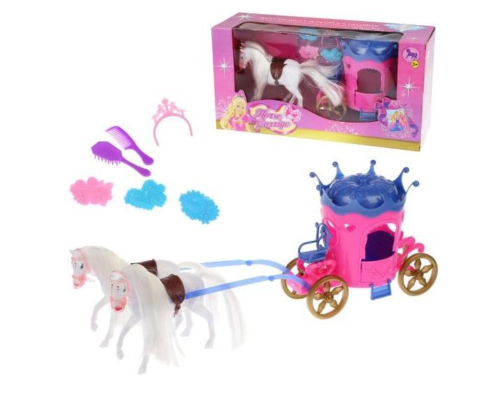 Купить Игровые наборы, Наша Игрушка Карета Horse Carrige