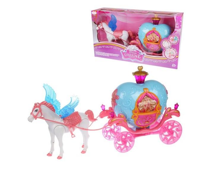 Купить Игровые наборы, Наша Игрушка Карета с крылатой лошадкой