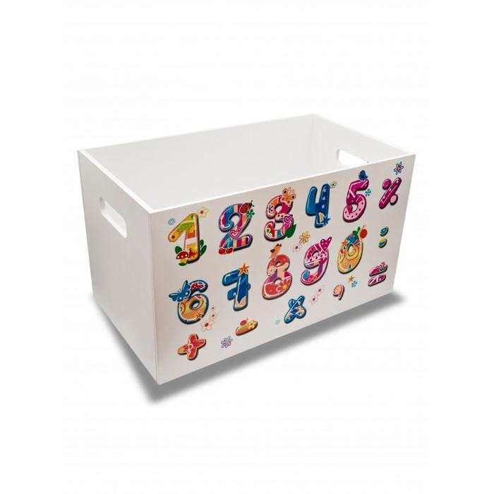 Rodent kids Ящик для игрушек Читай-считай для девочек