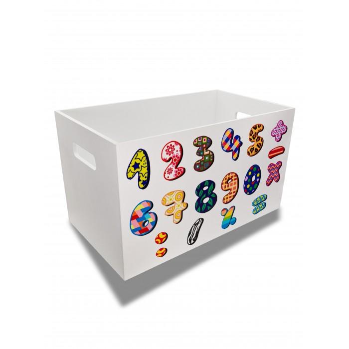 Rodent kids Ящик для игрушек Читай-считай для мальчиков