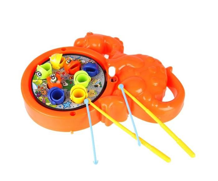 Фото - Настольные игры Наша Игрушка Набор рыбалка заводная Динозаврик интерактивная игрушка наша игрушка рыбалка от 3 лет синий m7203