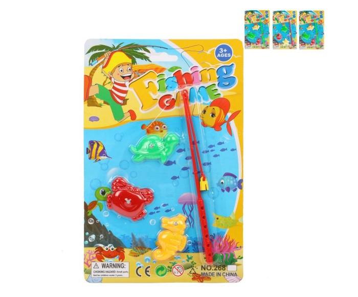 Настольные игры Наша Игрушка Набор Рыбалка магнитная интерактивная игрушка наша игрушка рыбалка с крючком удочка от 3 лет bw30035 2