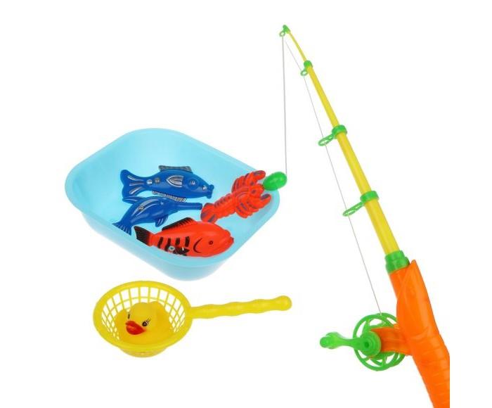Настольные игры Наша Игрушка Набор Рыбалка магнитная 200501682 интерактивная игрушка наша игрушка рыбалка с крючком удочка от 3 лет bw30035 2