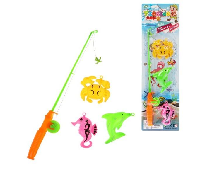 Настольные игры Наша Игрушка Набор Рыбалка 3548-E интерактивная игрушка наша игрушка рыбалка с крючком удочка от 3 лет bw30035 2