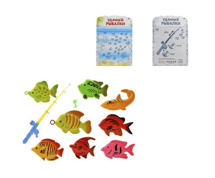 Настольные игры Наша Игрушка Набор Рыбалка 6606-03 интерактивная игрушка наша игрушка рыбалка с крючком удочка от 3 лет bw30035 2