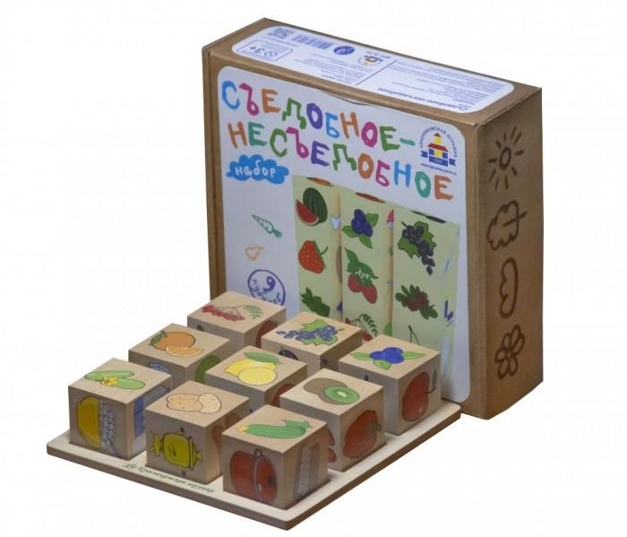 Купить Деревянные игрушки, Деревянная игрушка Краснокамская игрушка Логическая игра Съедобное-Несъедобное