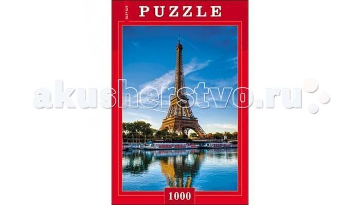 Пазлы Рыжий кот Пазлы Эйфелева башня (1000 элементов) пазлы magic pazle объемный 3d пазл эйфелева башня 78x38x35 см