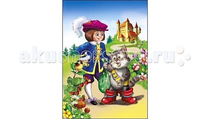 Пазлы Рыжий кот Пазлы Изолон Кот в сапогах формат А4 (12 элементов) росмэн кот в сапогах 21068