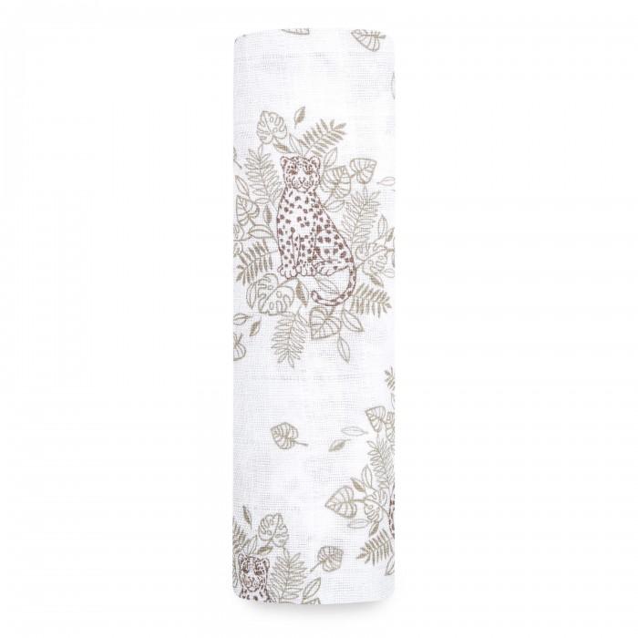 Купить Пеленки, Пеленка Aden&Anais из муслинового хлопка Jungle 120х120 см